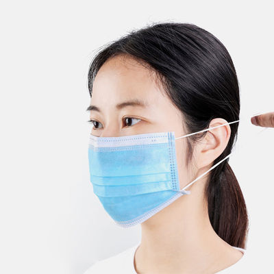 BFE99% Non Woven PP 20gsm Sterilized Surgical Mask